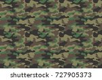 camouflage seamless pattern... | Shutterstock .eps vector #727905373