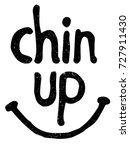 chin up vector illustration  ... | Shutterstock .eps vector #727911430