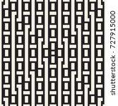 interlacing lines maze lattice. ... | Shutterstock .eps vector #727915000