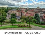 aerial view of old town of metz ... | Shutterstock . vector #727937260