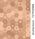 seamless hexagons pattern in...