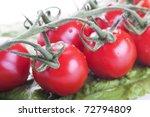cherry tomatoes | Shutterstock . vector #72794809