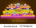 traditional offering... | Shutterstock .eps vector #727948624