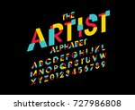 vector of abstract colorful...   Shutterstock .eps vector #727986808