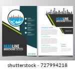 abstract vector modern flyers...   Shutterstock .eps vector #727994218
