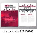 abstract vector modern flyers... | Shutterstock .eps vector #727994248