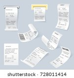 paper print check vector... | Shutterstock .eps vector #728011414