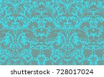 classical luxury old fashioned... | Shutterstock .eps vector #728017024