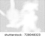 abstract halftone wave dotted... | Shutterstock .eps vector #728048323