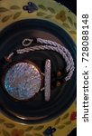 beautiful fashion necklace... | Shutterstock . vector #728088148