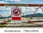 not allow dog feces sign in the ... | Shutterstock . vector #728113324