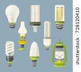 different bulbs. symbols of...
