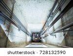 lift machinist repairing... | Shutterstock . vector #728132590