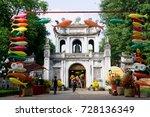 hanoi vietnam october 3 2017...   Shutterstock . vector #728136349