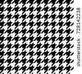 seamless classical black and... | Shutterstock . vector #728142238