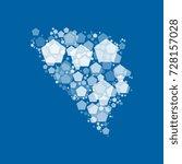 map of bosnia and herzegovina...   Shutterstock .eps vector #728157028
