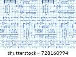 vector background with physics...   Shutterstock .eps vector #728160994