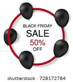 black friday banner. vector... | Shutterstock .eps vector #728172784