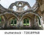 Farnham  Surrey  Uk  Ruins Of...