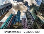 highrise buildings in causeway... | Shutterstock . vector #728202430