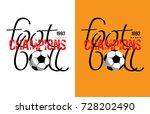 football design  vector... | Shutterstock .eps vector #728202490