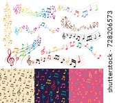 Vector Music Notes Music Melod...