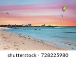 watersports at palm beach on... | Shutterstock . vector #728225980