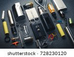 popular vaping device mod... | Shutterstock . vector #728230120