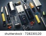 popular vaping device mod...   Shutterstock . vector #728230120