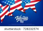 veterans day. banner for usa...   Shutterstock .eps vector #728232574