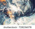 artistic bright motion... | Shutterstock . vector #728236078