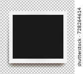 realistic square frame with... | Shutterstock .eps vector #728264614