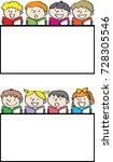 children reading books with... | Shutterstock .eps vector #728305546