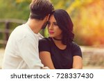 couple in love.autumn concept. | Shutterstock . vector #728337430