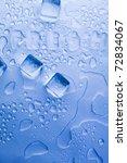 ice cubes | Shutterstock . vector #72834067