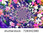 paint and flowers   Shutterstock . vector #728342380