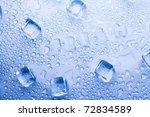 ice cubes | Shutterstock . vector #72834589