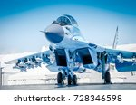 military fighter jet plane.... | Shutterstock . vector #728346598
