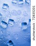 ice cubes | Shutterstock . vector #72835201