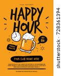 Happy Hour Beer Poster