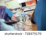group of medical doctors in... | Shutterstock . vector #728375170