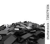 heap of different smartphones... | Shutterstock . vector #728379106