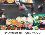 bangkok   dec 16  unidentified... | Shutterstock . vector #728379730