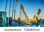 colorful dusk on sunset...   Shutterstock . vector #728385910