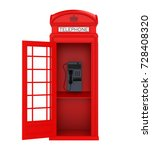 British Red Telephone Booth...