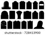 illustration of different... | Shutterstock .eps vector #728413900