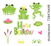 Hoppy Birthday Frogs...