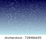 falling snow background. vector ... | Shutterstock .eps vector #728486650