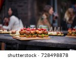 abstract blurry food background.... | Shutterstock . vector #728498878