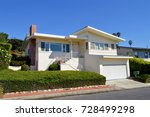 residential two story home... | Shutterstock . vector #728499298